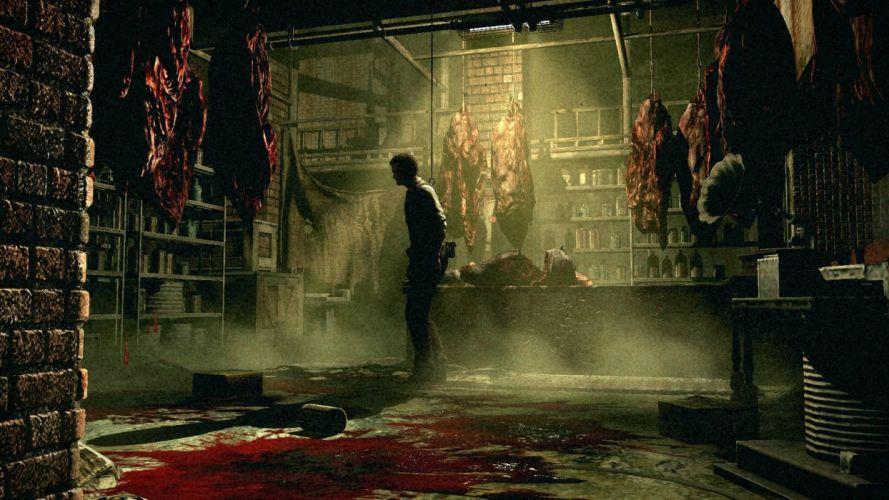 THE EVIL WITHIN survival horror dark blood gz wallpaper
