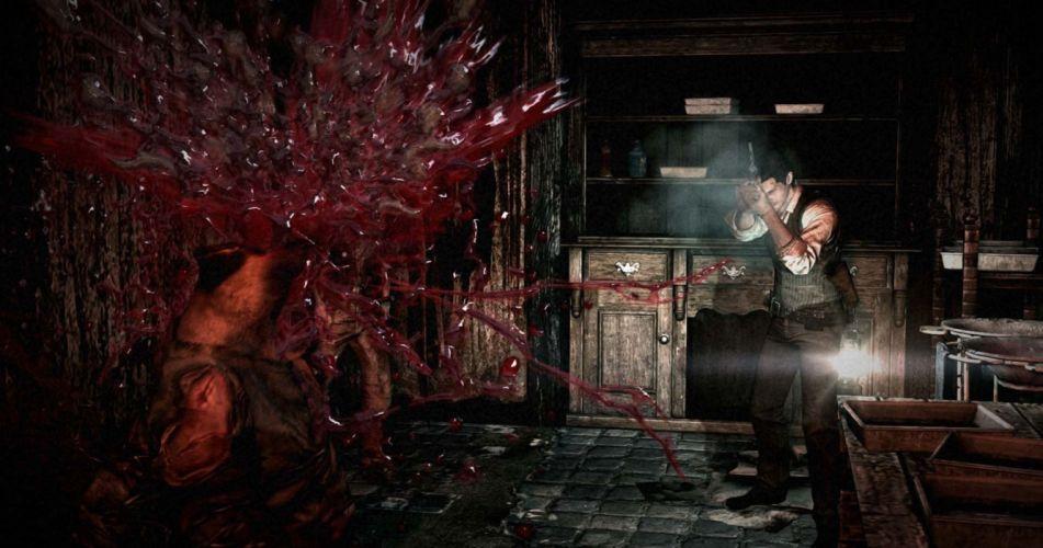 THE EVIL WITHIN survival horror dark blood hs wallpaper