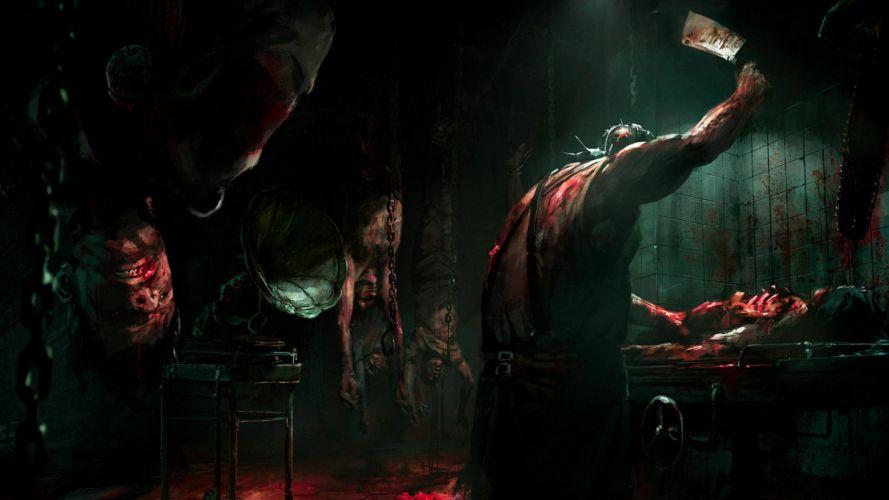 THE EVIL WITHIN survival horror dark blood ga wallpaper