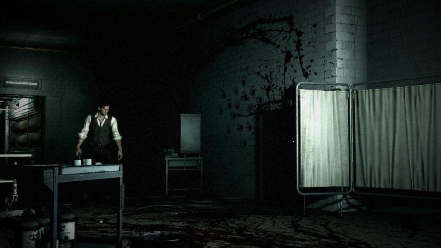 THE EVIL WITHIN survival horror dark blood eq wallpaper