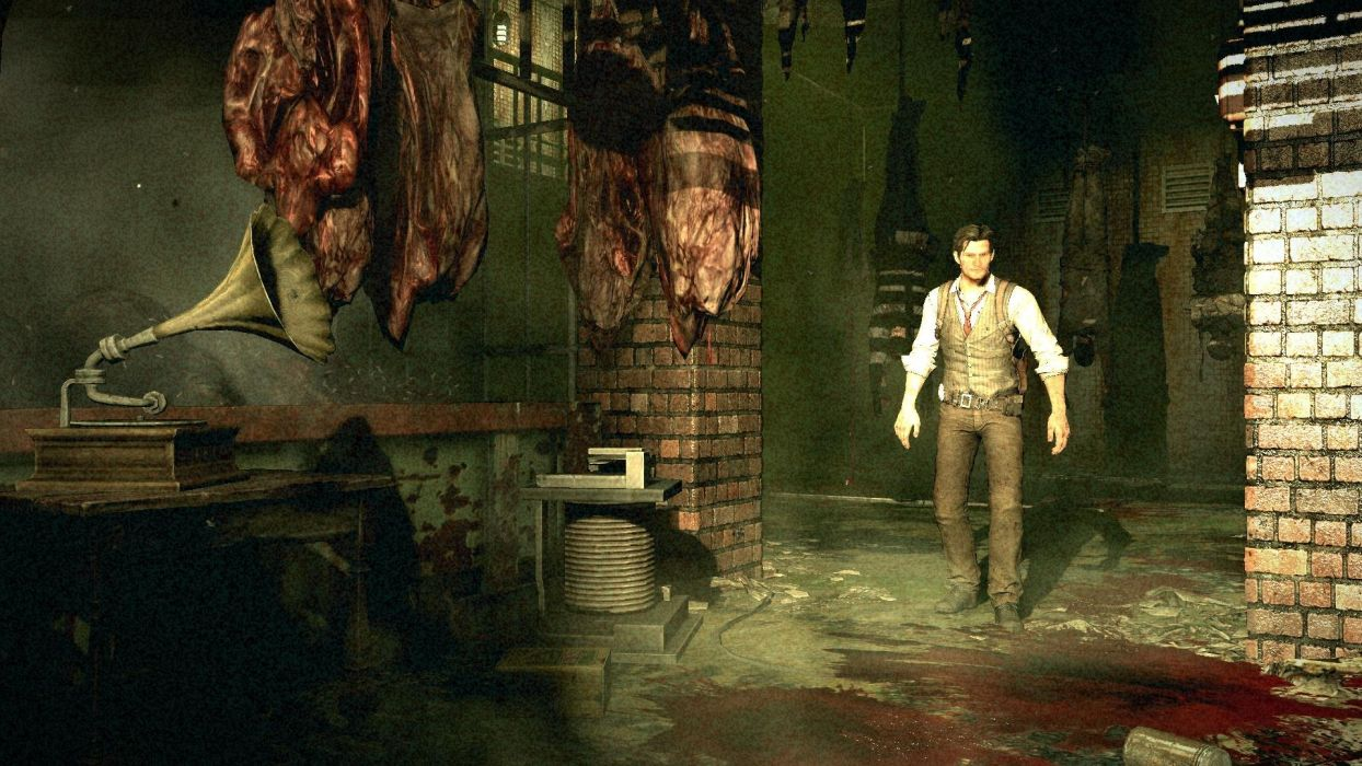 THE EVIL WITHIN survival horror dark blood vc wallpaper