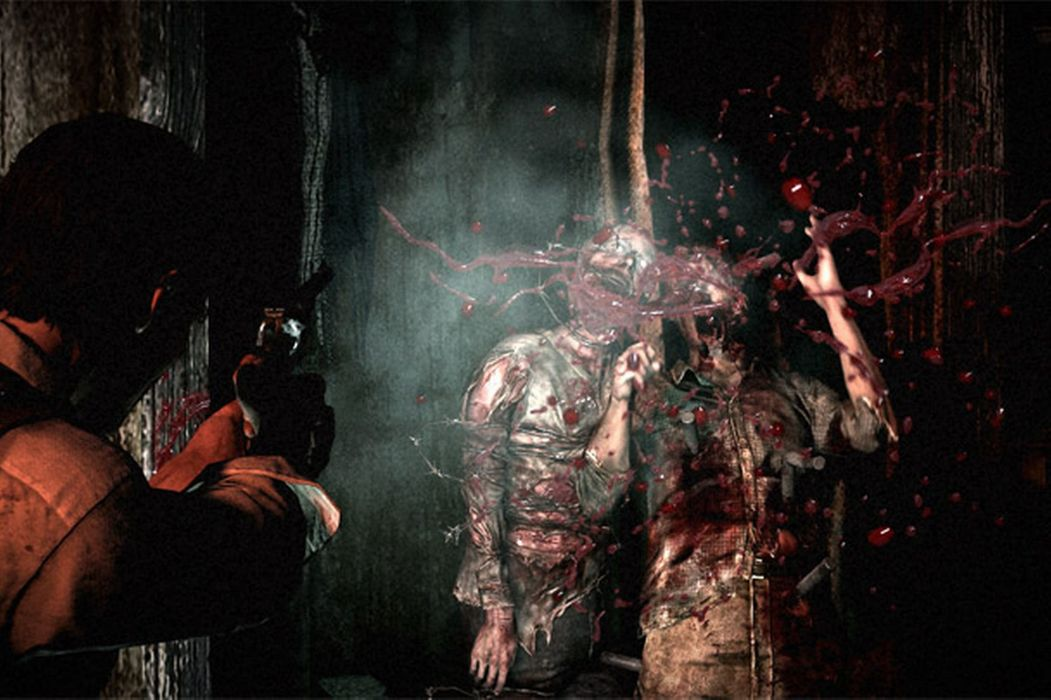 THE EVIL WITHIN survival horror dark blood zombie     d wallpaper