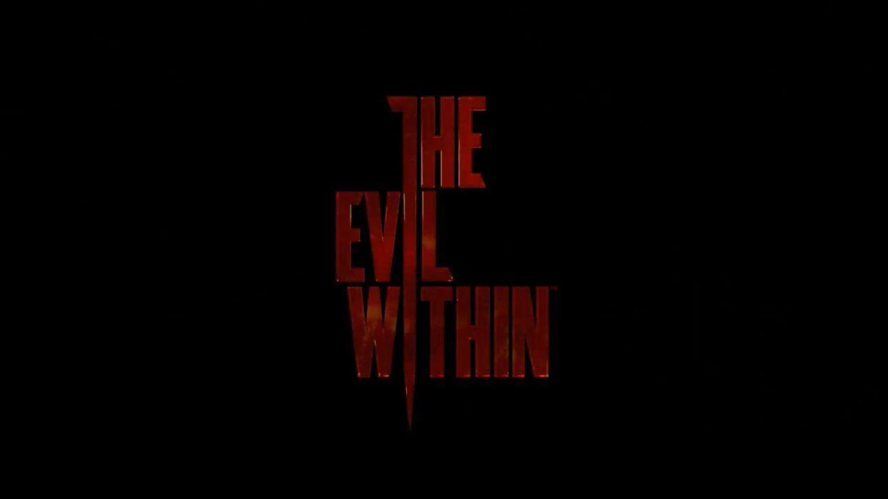 THE EVIL WITHIN survival horror dark poster  fs wallpaper