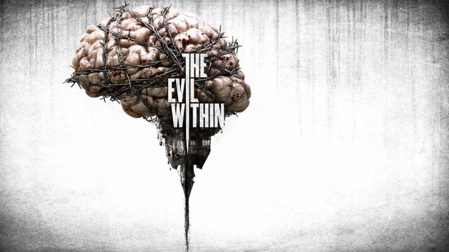 THE EVIL WITHIN survival horror dark poster ds wallpaper