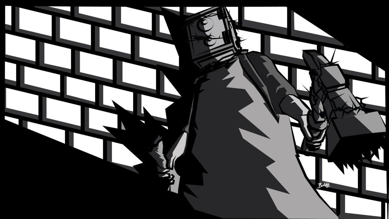THE EVIL WITHIN survival horror dark robot sci-fi wallpaper