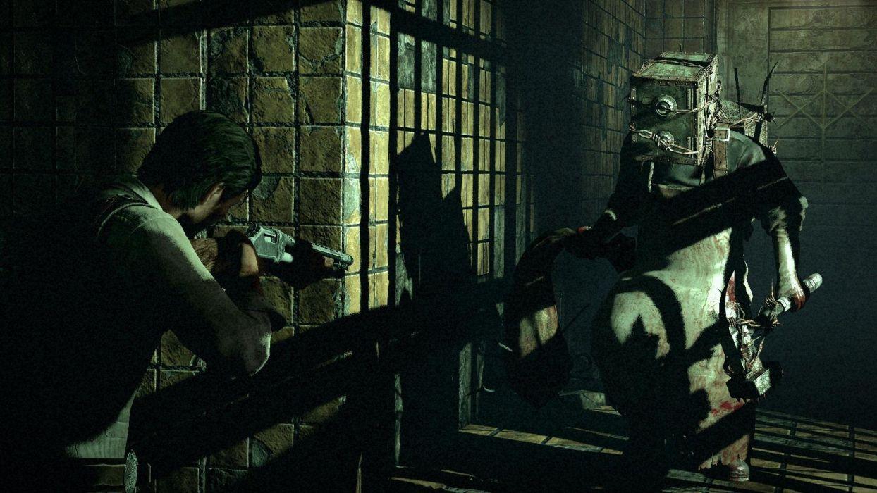THE EVIL WITHIN survival horror dark weapon gun battle monster     g wallpaper