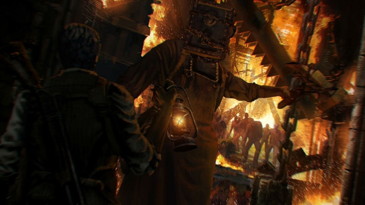 THE EVIL WITHIN survival horror dark zombie       dq wallpaper