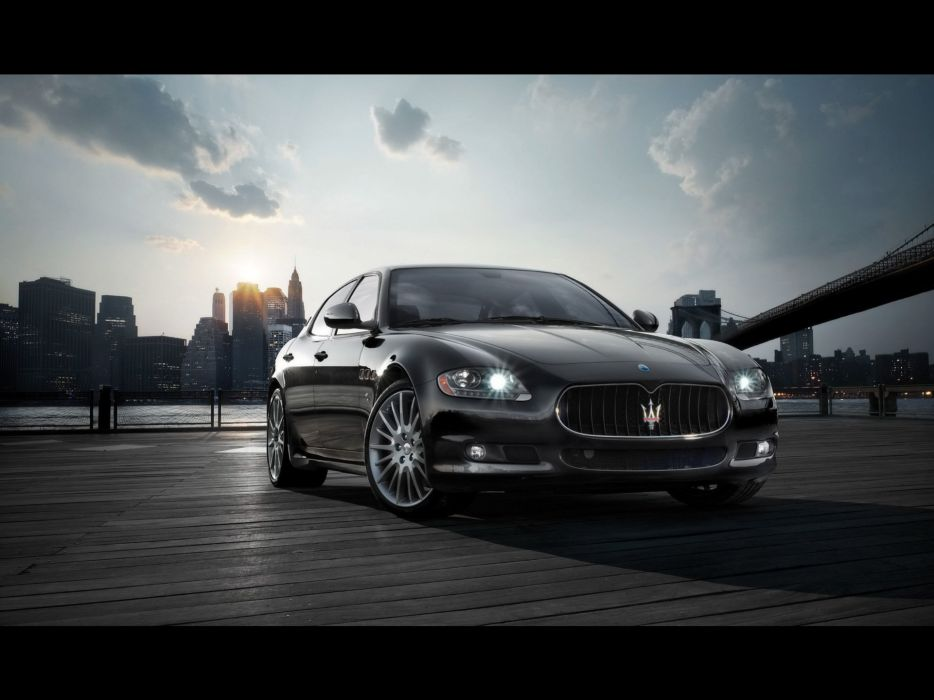 cars Maserati vehicles wallpaper