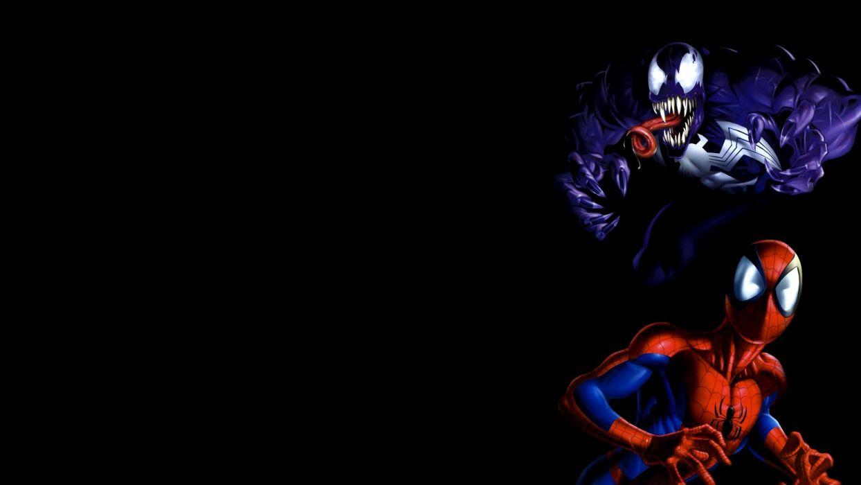 Venom Spider-Man Marvel Comics wallpaper