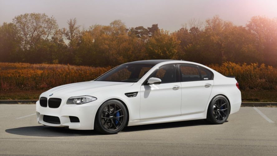 trees cars rims bmw m5 f10 wallpaper