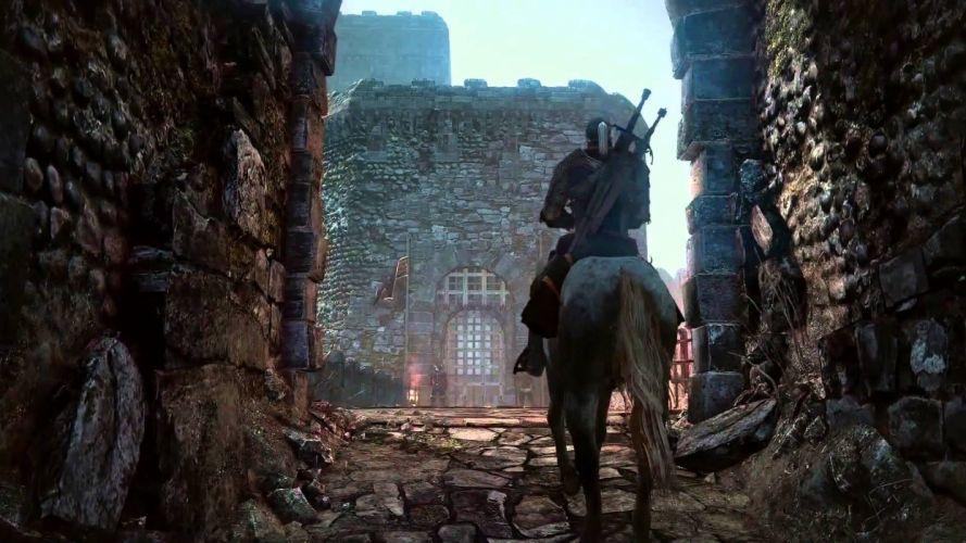WITCHER 3 fantasy warrior horse d wallpaper