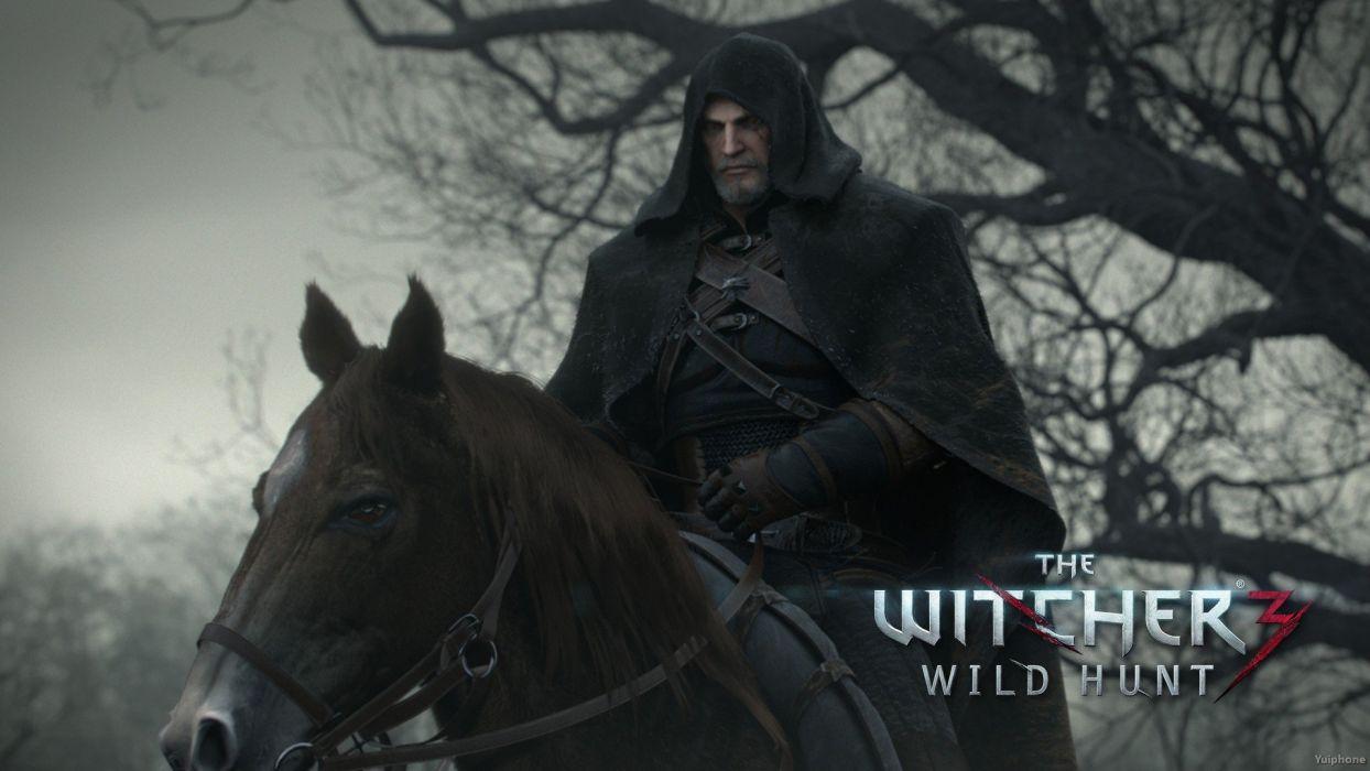 WITCHER 3 fantasy warrior poster      s wallpaper