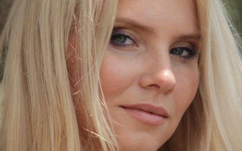 blondes women models pornstars Met-Art magazine Katerina H wallpaper