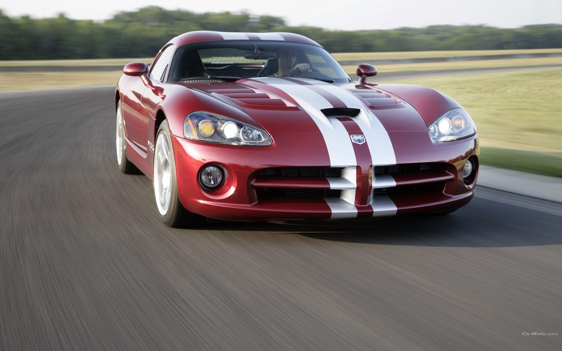 cars Dodge Viper SRT10 wallpaper