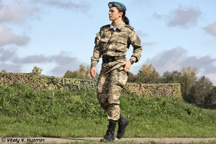 army russian troops woman wallpaper
