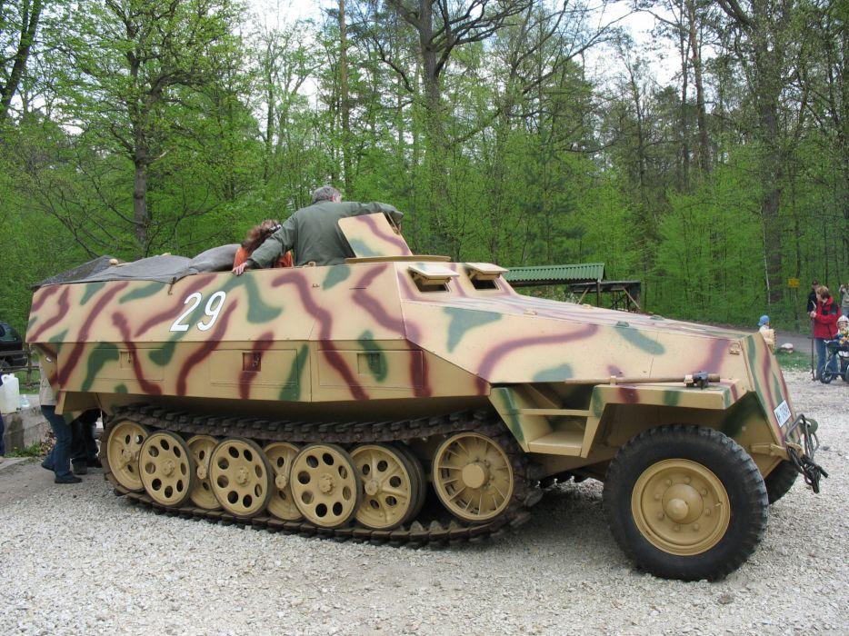 wwII war sdkfz 251 germany ww2 wallpaper