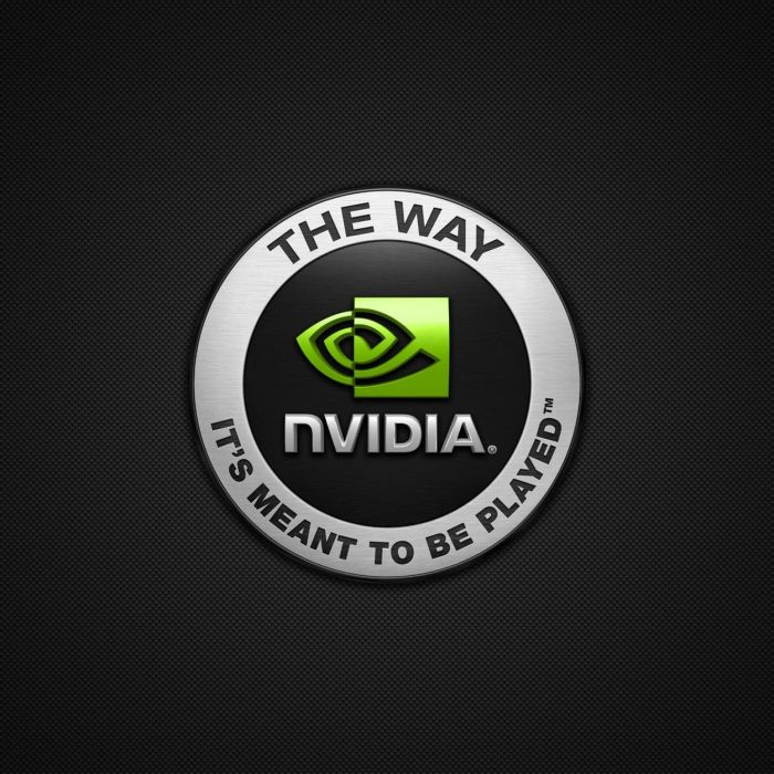 Logo-Nvidia-2048x2048 wallpaper
