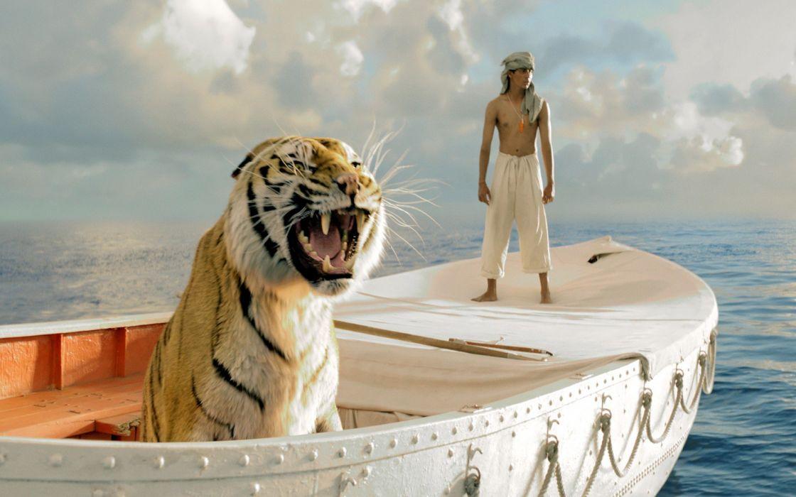 Life Of Pi movies tiger wallpaper