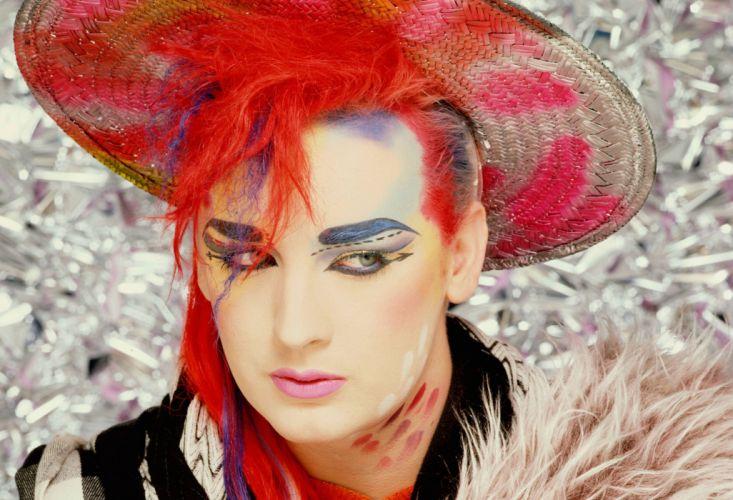 Culture Club New Wave Pop Boy George Glam Wallpaper