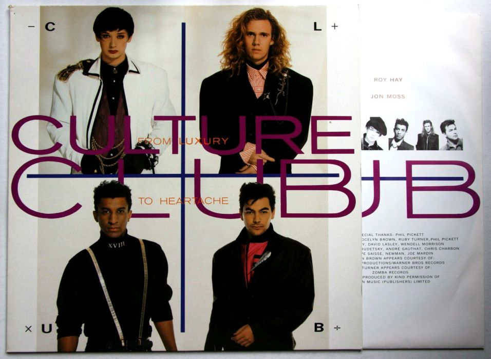 CULTURE CLUB new wave pop boy george glam poster wallpaper