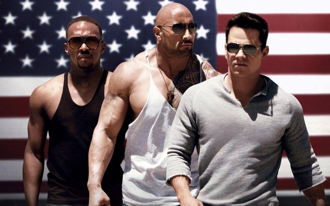 Pain & Gain movies Mark Wahlberg Dwayne Johnson wallpaper
