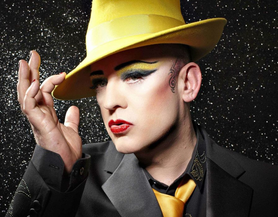 CULTURE CLUB new wave pop boy george glam wallpaper