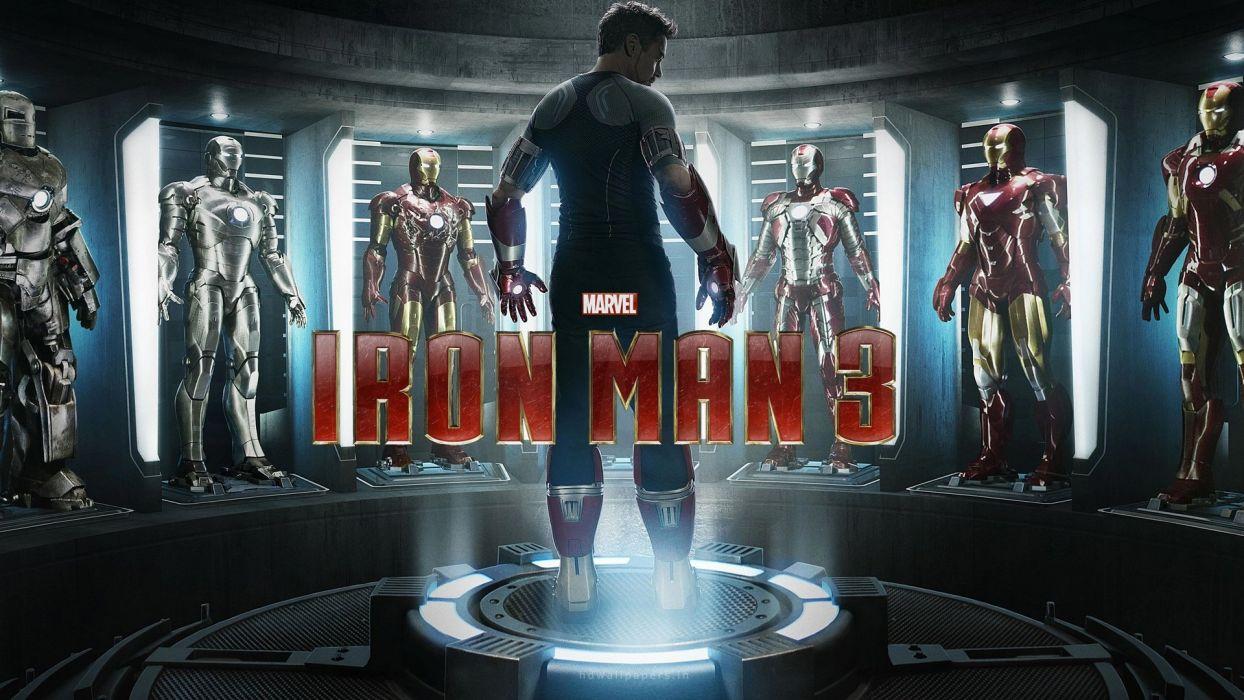 Iron Man 3 action movies wallpaper