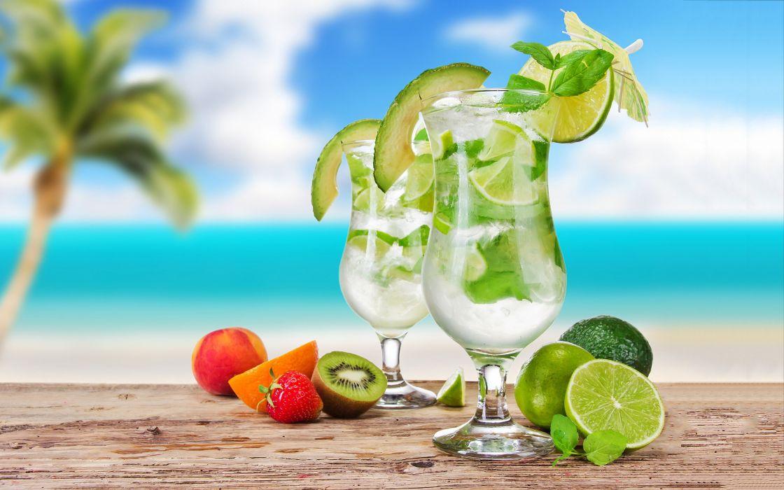 mojito-cocktail-drink wallpaper