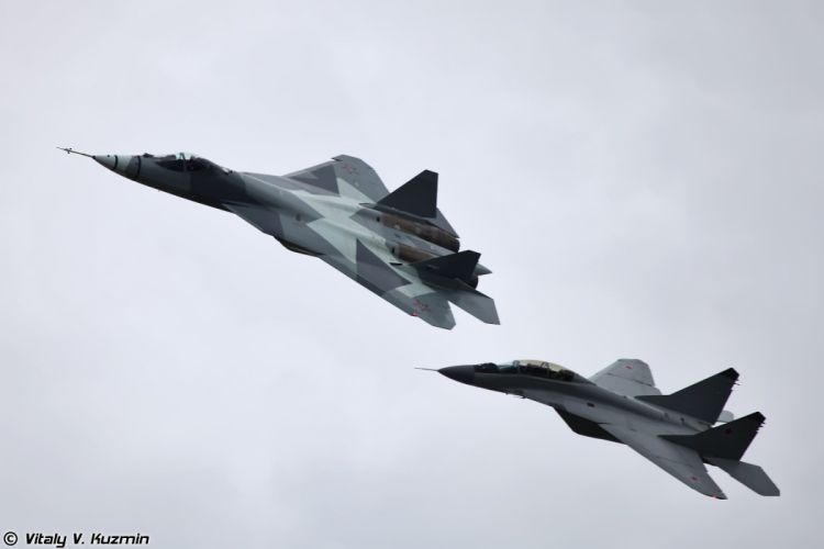 russian air sukhoi t50 mig 29 war wallpaper