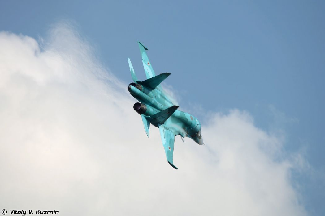 russian air sukhoi su34 wallpaper