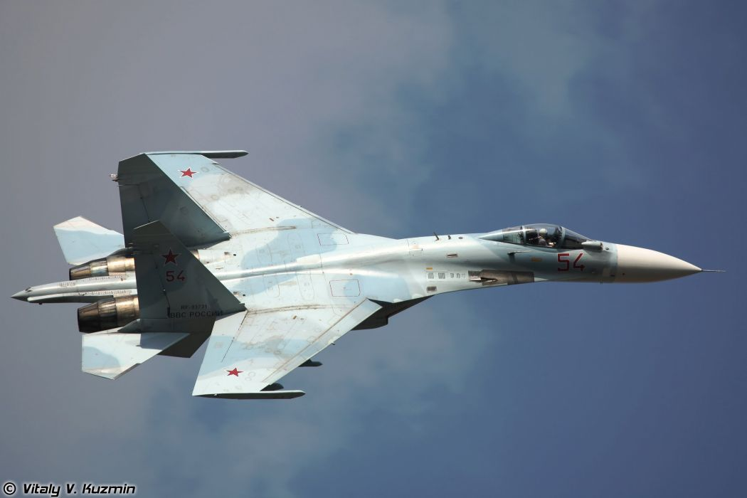 russian air sukhoi su35 super flanker wallpaper