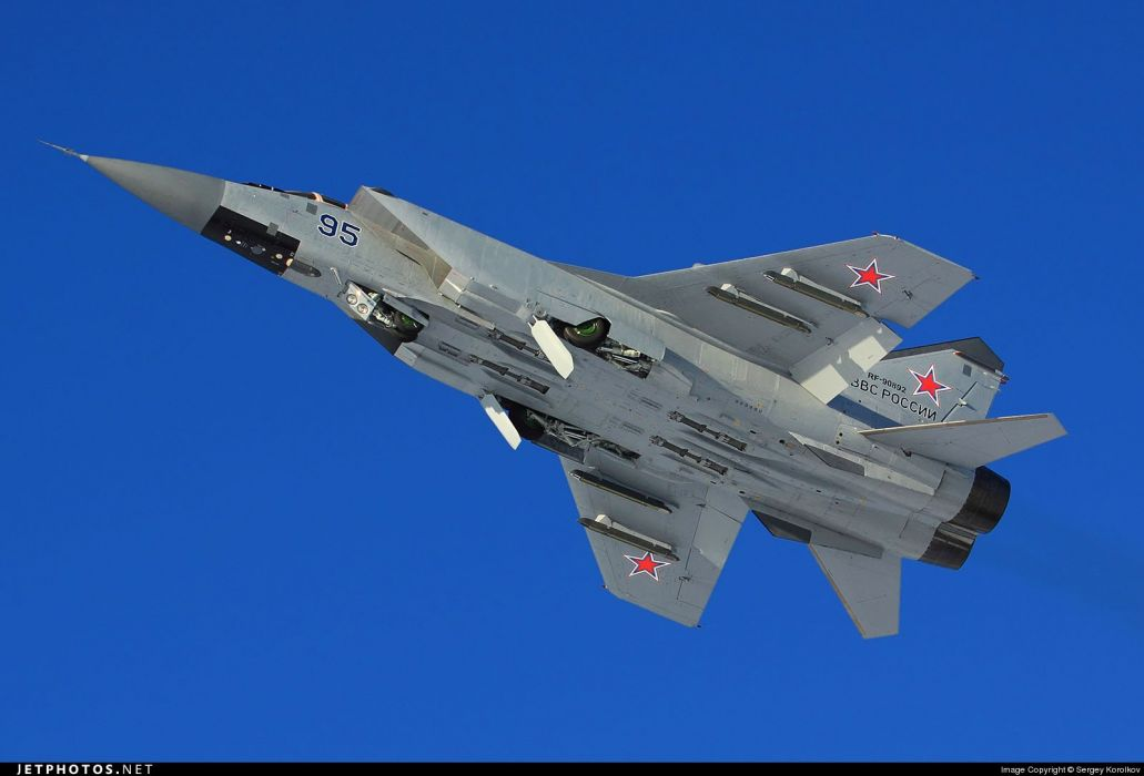 russian air war mig 31 wallpaper