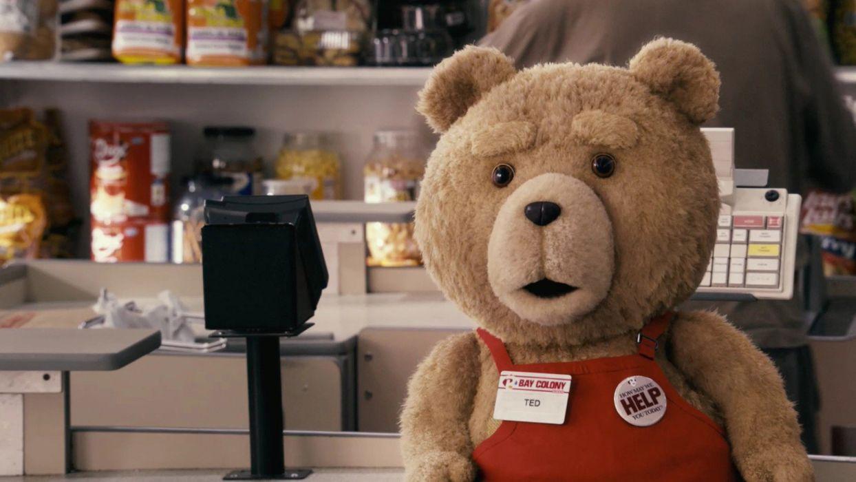 Movie Ted bear wallpaper