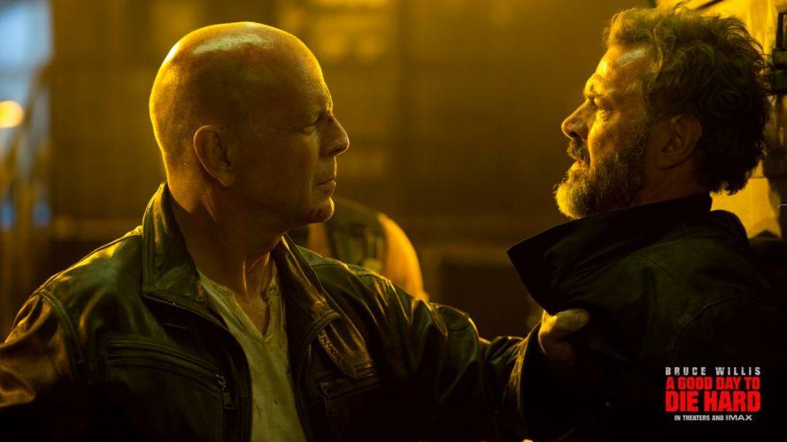 Movie A Good Day To Die Hard Bruce Willis wallpaper