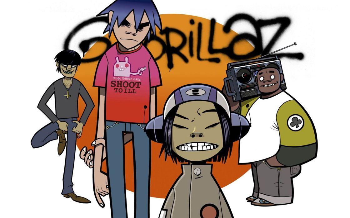 Gorillaz wallpaper