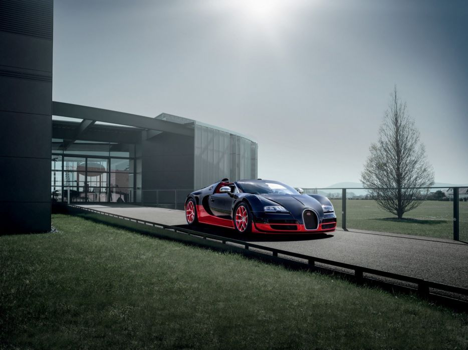 black red cars Bugatti Veyron front Bugatti Veyron Grand Sport wallpaper