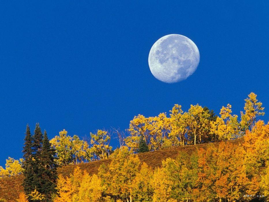 light nature Moon Colorado wallpaper