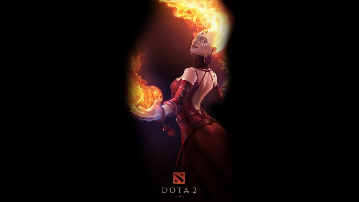 DotA 2 Lina wallpaper