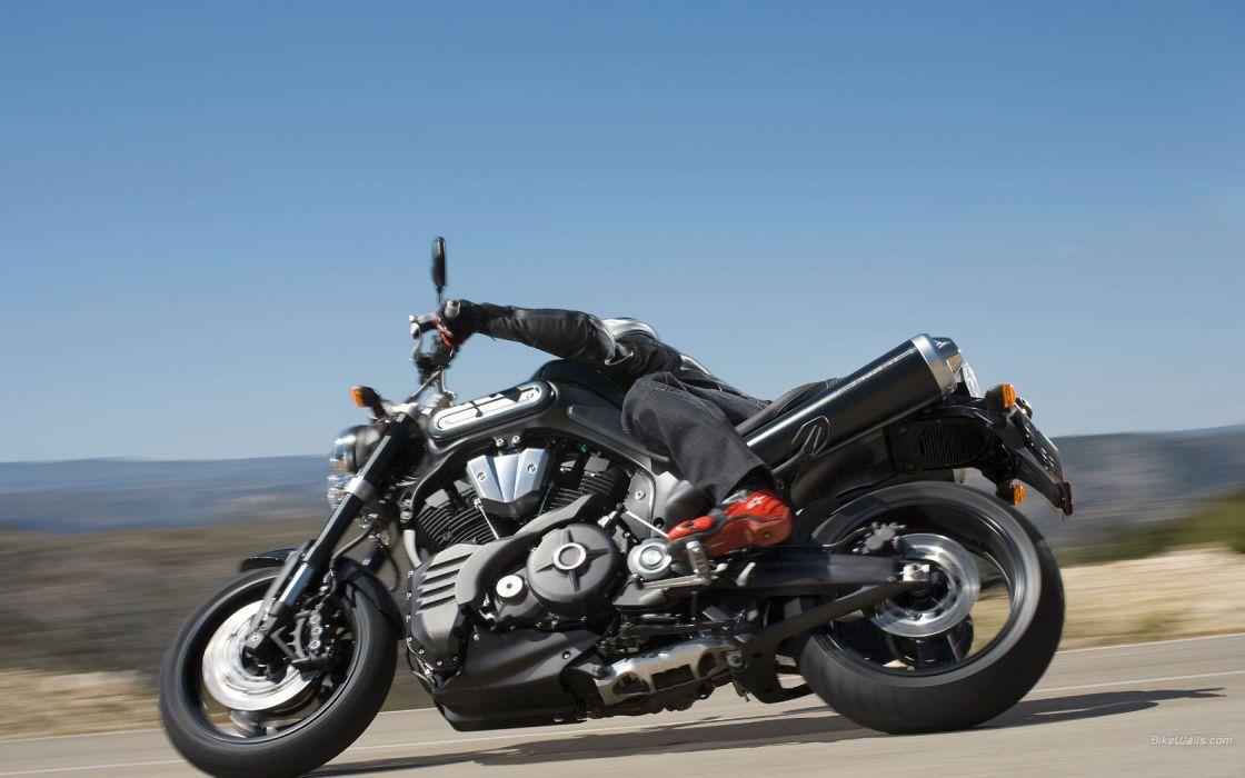 motorbikes yamaha mt 01 wallpaper