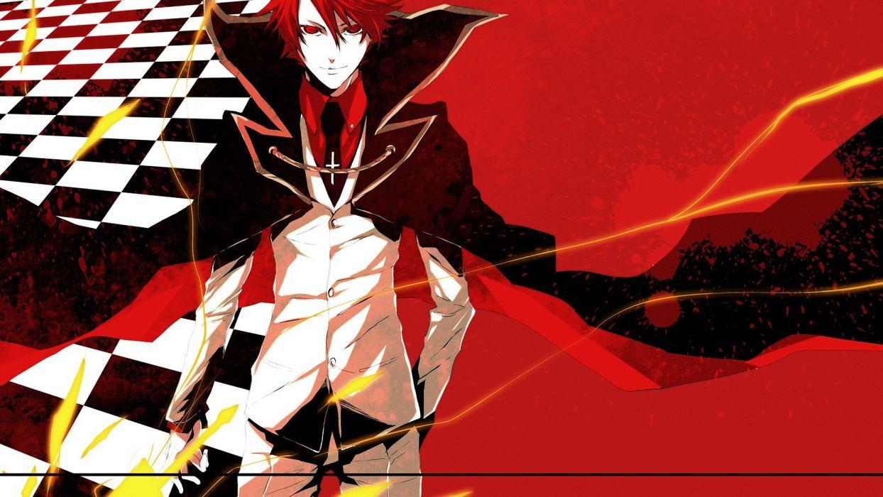 red redheads Umineko no Naku Koro ni Ushiromiya Battler wallpaper