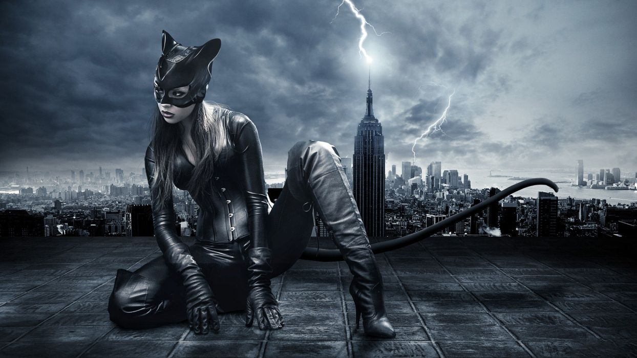 cosplay Catwoman wallpaper