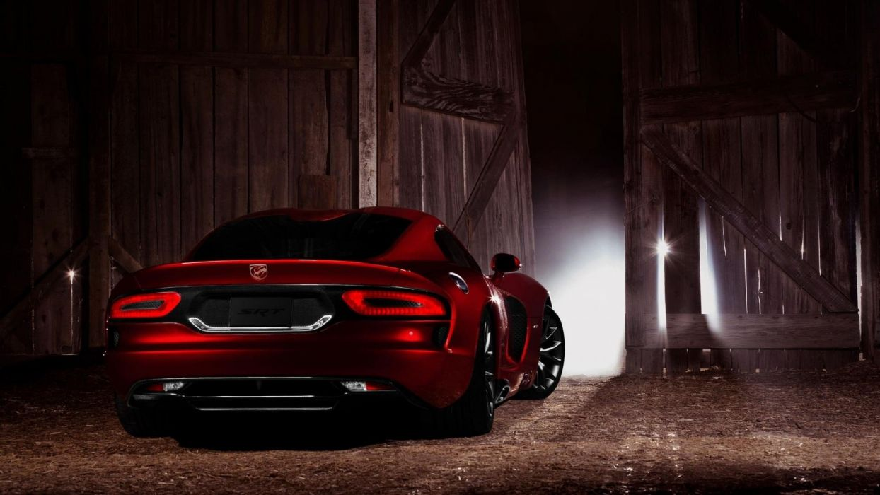 cars snakes Dodge Viper red cars wallpaper