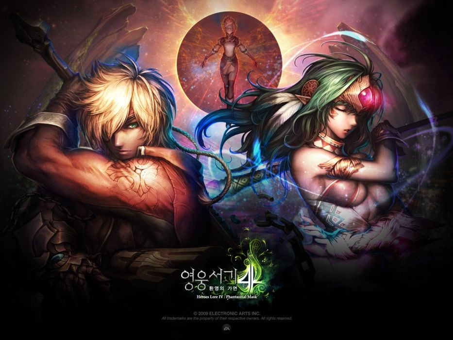 video games anime wallpaper