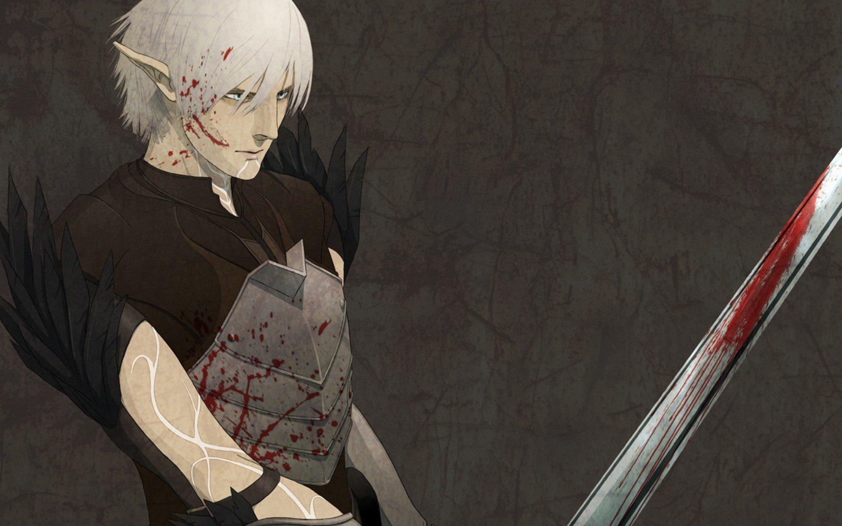 Video Games Dragon Age Dragon Age 2 Anime Fenris Wallpaper