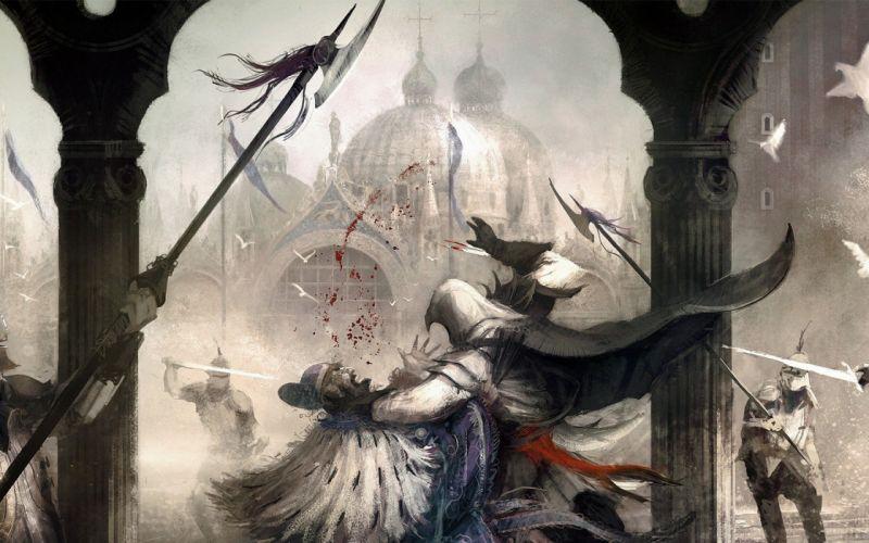 video games Assassins Creed fantasy art artwork wallpaper