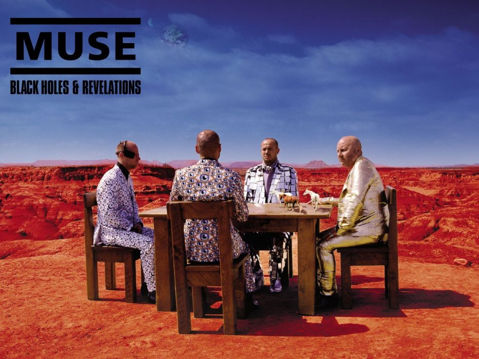Muse album covers wallpaper