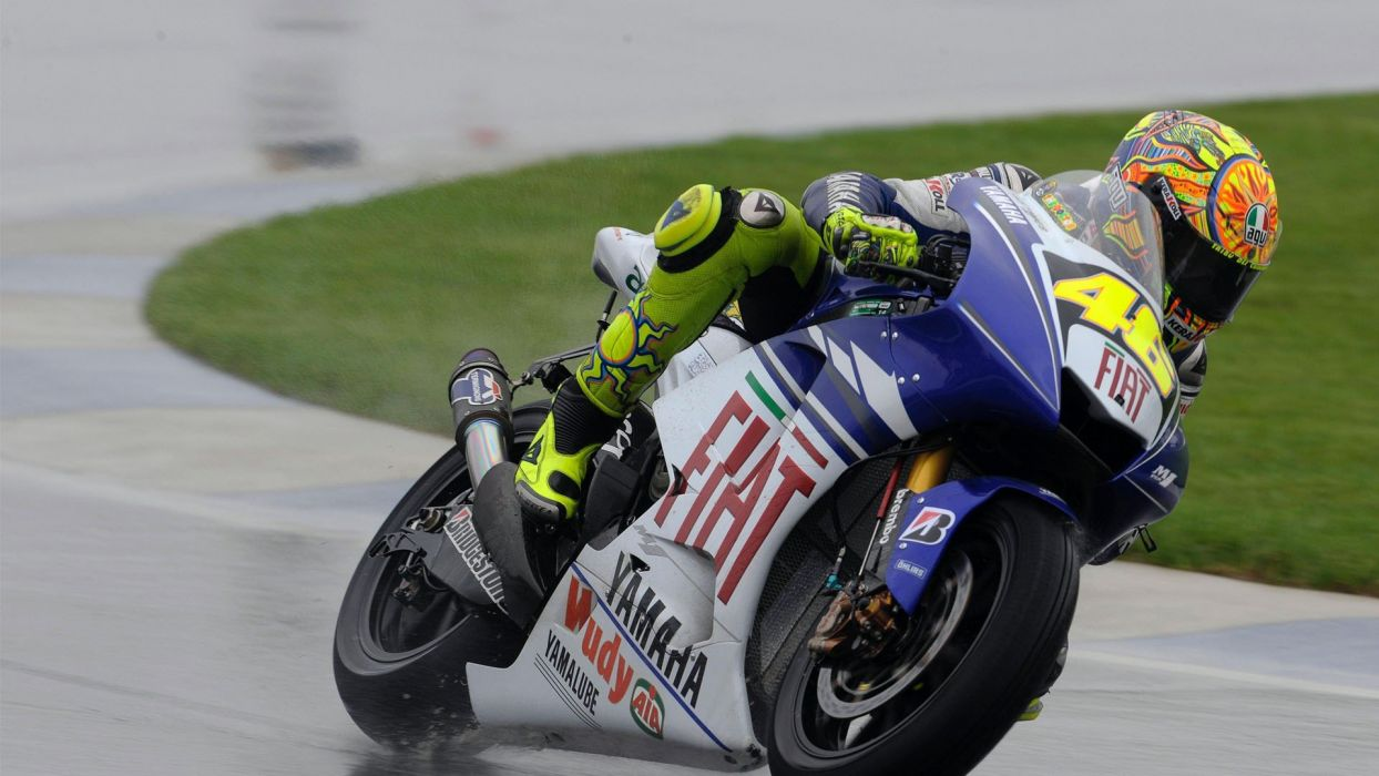 bikes vehicles Moto GP motorbikes Valentino Rossi wallpaper