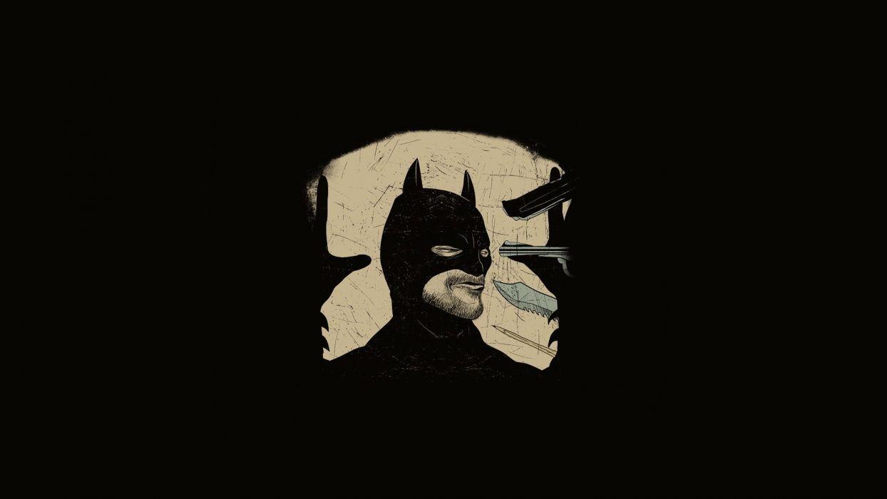 abstract Batman simplistic simple Bruce Wayne wallpaper