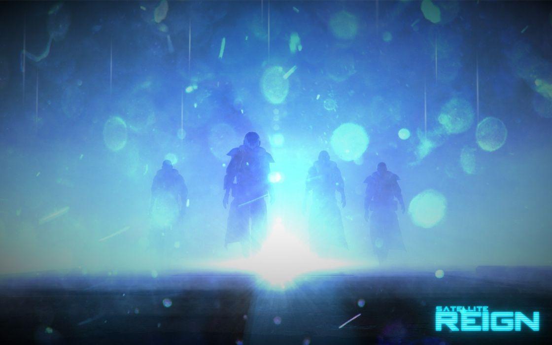 dystopia cyberpunk Indie games 5 Lives Studios Satellite Reign wallpaper