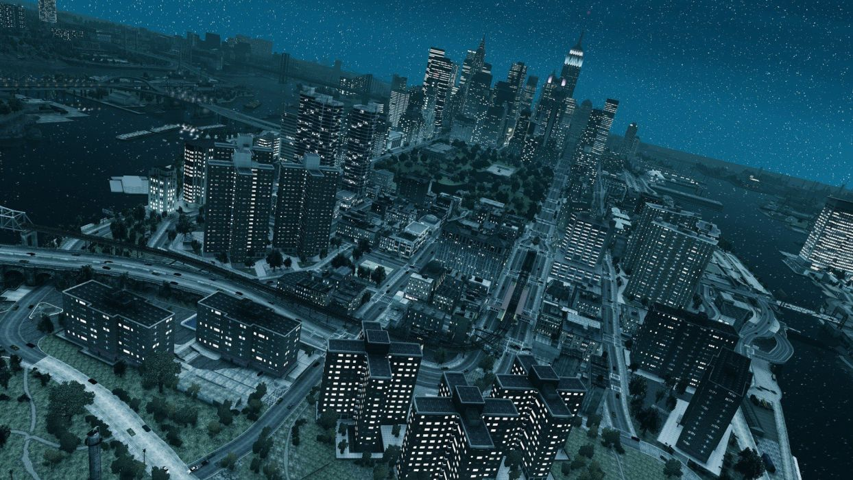 video games cityscapes Grand Theft Auto IV wallpaper